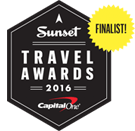 A Sunset Travel Award Finalist