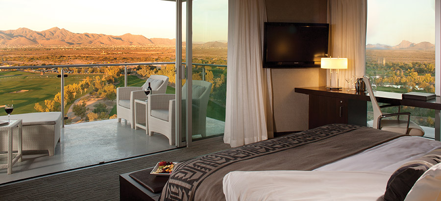 Scottsdale hotel suites accommodations at talking stick for 13th floor scottsdale az
