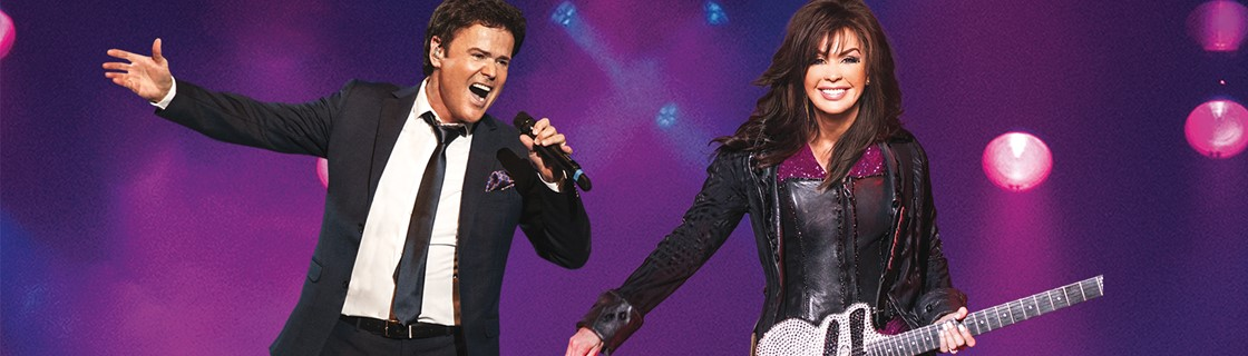 Donny and Marie Summer 2018 Tour
