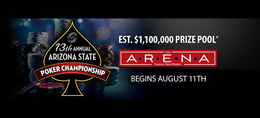 AZ State Poker Championship Satellite Tournament - Buy-in: $140