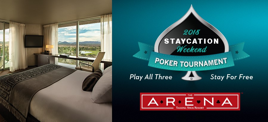 Staycation Weekend Poker Tournament 2018