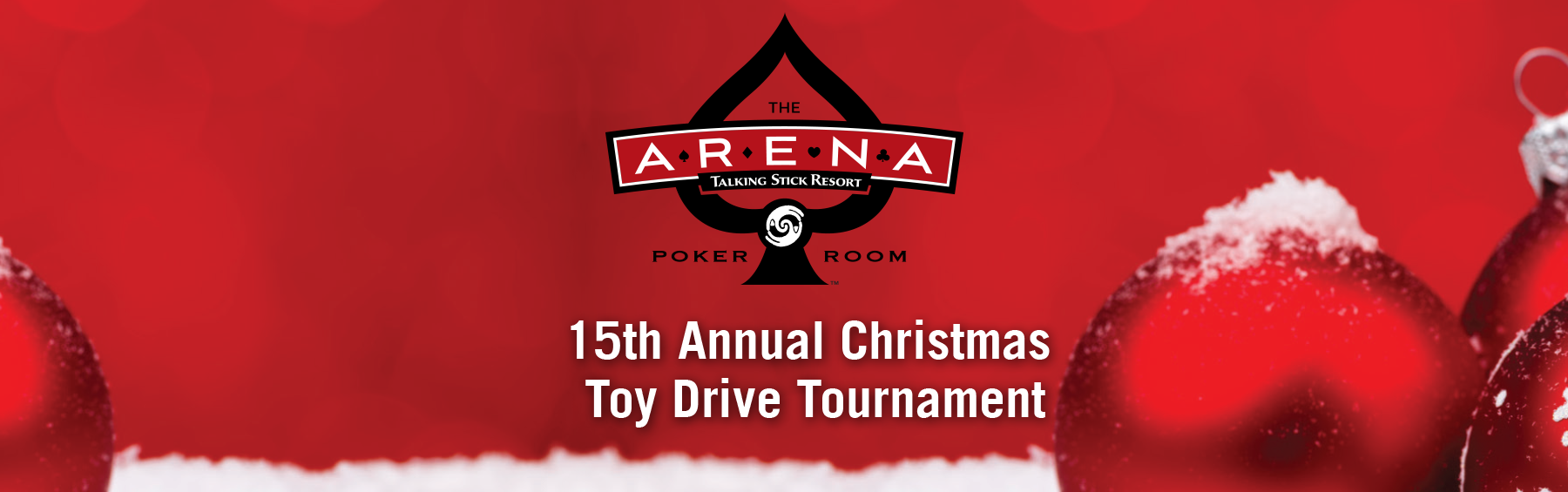 15th Annual Christmas Toy Poker Tournament